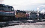 Amtrak passes a helper set