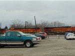 BNSF 7937 and BNSF 6742.