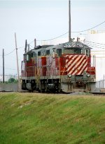 NOGC 505 & 507 tied up for the weekend west of the Harvey Canal
