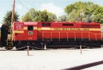 Great Smoky Mountains Railway GP35 210