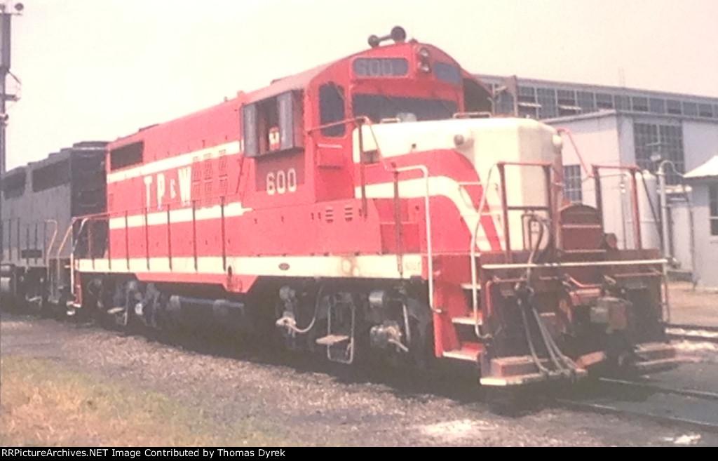 TP&W 600