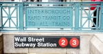 NYCTA 2, 3 Lines (IRT) Wall Street Station Entrance