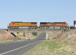 BNSF 865 and 1106