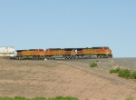 BNSF 4073  5005  and  5511