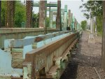 these welded rail cars were sitting idle