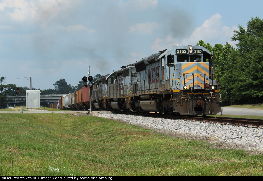 KCS Train 101 - Southbound Run