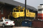 TP&W 2058 Buried at the Depot