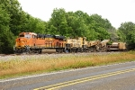 BNSF 4287 & LMIX DC-3 - LORAM Ditching Train
