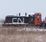 CN power at Mac Yard