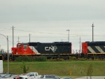 CN 398 arriving at Mac Yard
