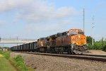 BNSF 3981 leads the U-CFSMAR