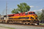 KCS 4795 On CSX Q 507 Southbound