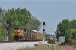 CSXT 352 On CSX Q 560 Northbound At Wayne Yard