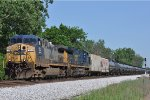 CSXT 154 On CSX K 428 Northbound