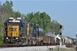 CSXT 2801 On CSX J 782 Northbound