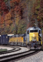 CSX 8023 on Q396 near Brook Tunnel
