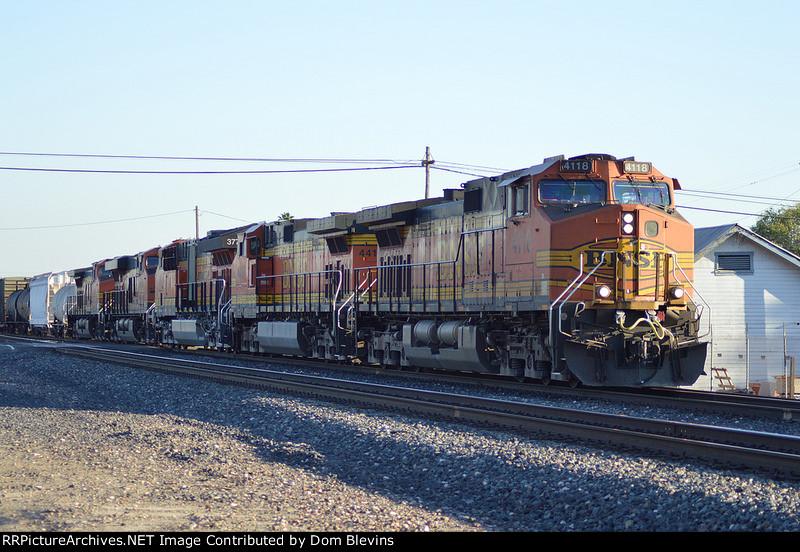 BNSF 4118