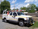 Signal Maintainer Mark Durham and His Truck