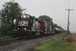NS Safety Train on CSX Rails