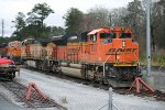 BNSF 8511 lays over for repairs