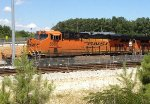BNSF 8060 lays over