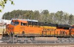 BNSF 7870 lays over