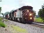 BCRail 4625 Leading A Colorful Lashup