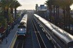 Metrolink 608 and Amtrak 4
