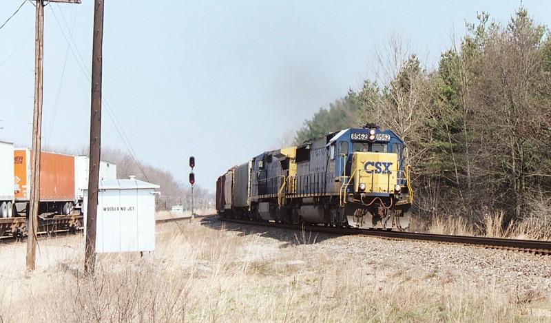 Southbound CSX freight