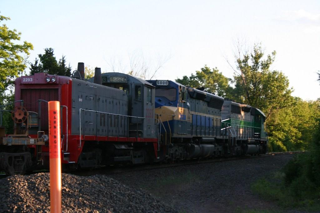 Trailing Engines On Q301