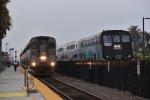 Amtrak 565 and Metrolink 661