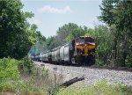 KCS 4817 shoves its short manifest south