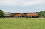 Two GE's lead an eastbound intermodal