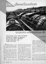 """De-dieselization,"" Page 42, 1955"