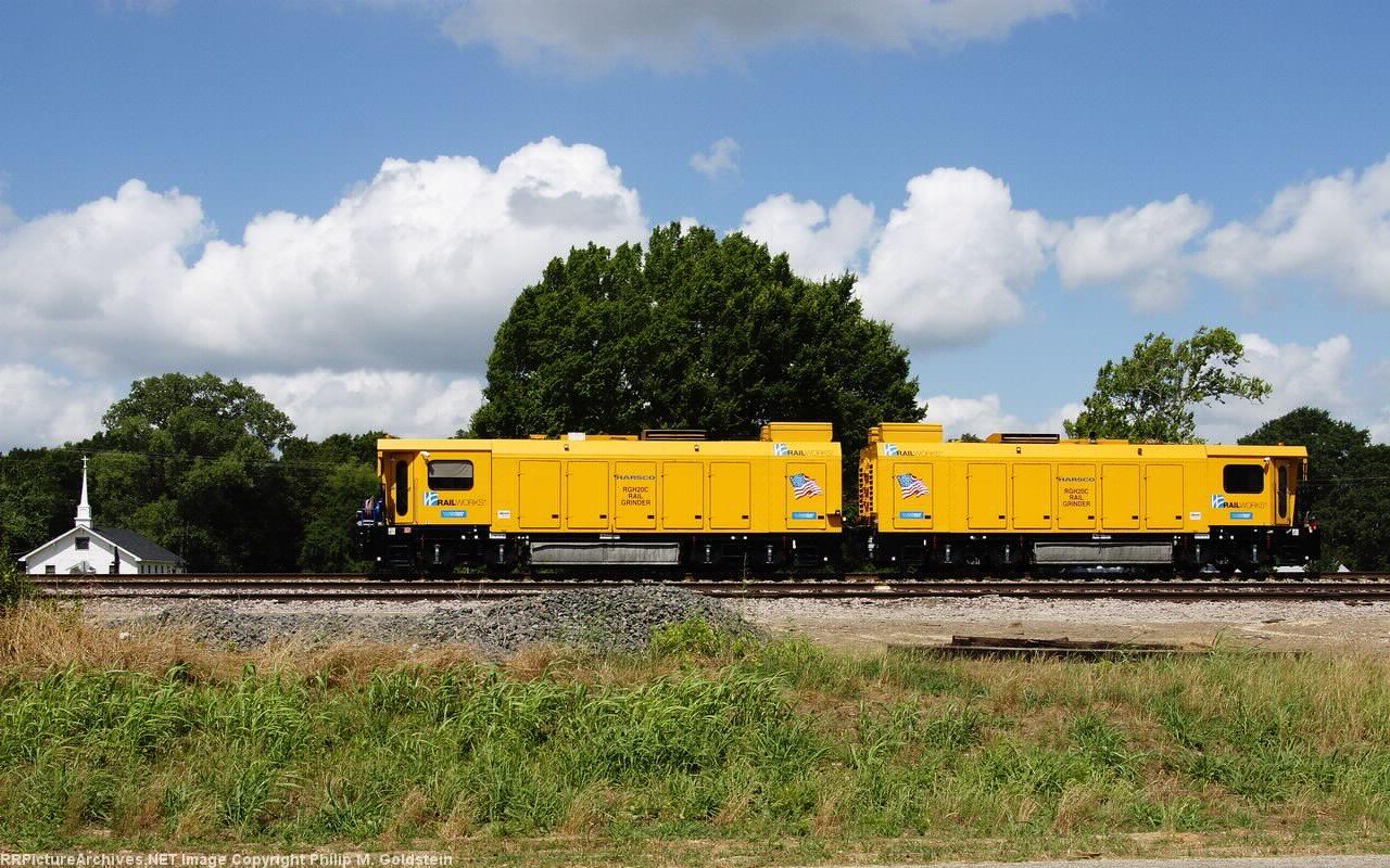 Railworks Harsco RGH20C Rail Grinder