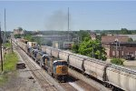 CSXT 4541 On CSX J 785 Southbound At South Hamilton