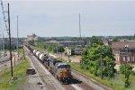 CSXT 7691 On CSX J 785 Southbound At South Hamilton