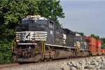 NS 1125 On NS 282 Westbound At Dead Dog Cove