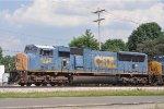 CSXT 4770 On CSX J 784 North At South Hamilton