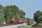 CSXT 3038 On CSX Q 508 Northbound At Wayne Yard
