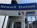Newark SEPTA/DART Station Sign