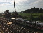 An Early Morning SEPTA Train