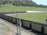 Heavy coal going up