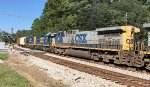 CSX 94, 6472, and 2324 run third, fourth, and fifth headed SB