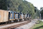 CSX 7791, 33, 94, 6472, and 2324 split the signals