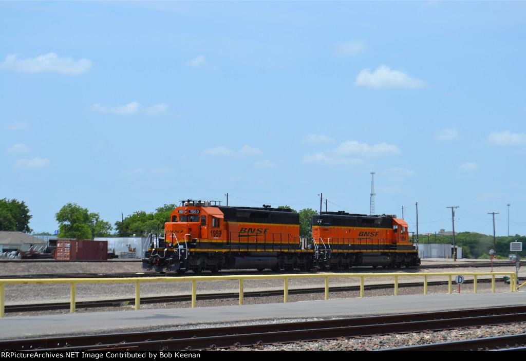 BNSF 1959 & 1654