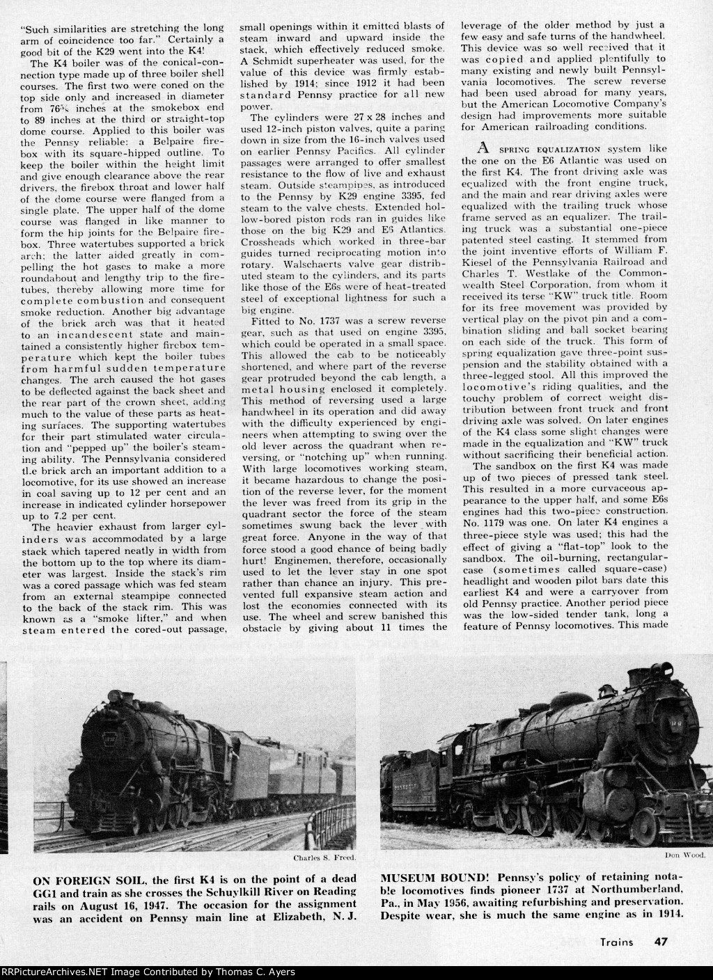 """""""Story Of A Pacific,"""" Page 47, 1956"""