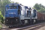 Ballast train awaits action