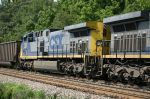 CSX 396 on this SCNX train