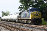CSX Local parked on fake out triple track